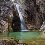 SLOVENIA WATERFALL SAVICA 2