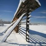 SLOVENIA WINTER HAYRACK