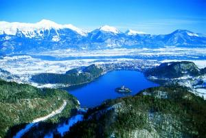 Lake Bled in Winter time