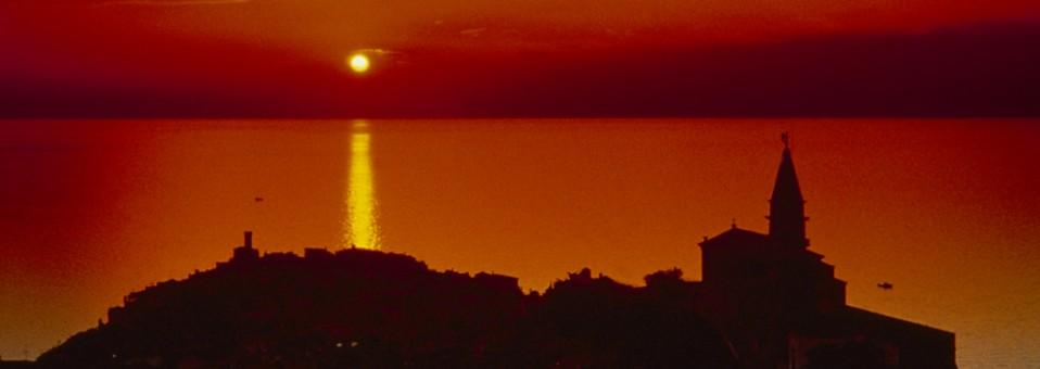 FAIRYTALE SUNSET IN PIRAN