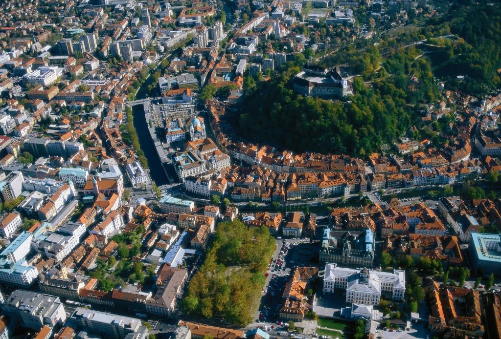 Ljubljana mestno sredisce