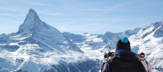 Matterhorn and skiing_izrez