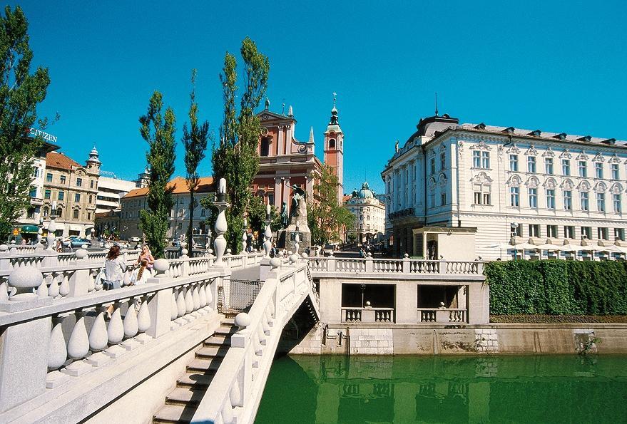 Ljubljana, Tromostovje