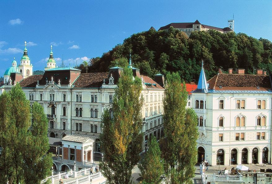 Ljubljana, glavno mesto